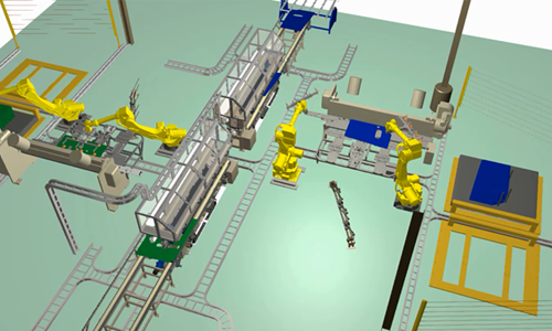 Simulation of industrial automation